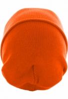 Caciula Beanie Basic Flap Long Version potocaliu neon MasterDis