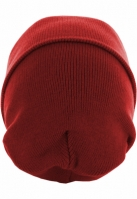 Caciula Beanie Basic Flap Long Version rosu MasterDis