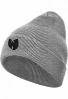 Caciula Beanie Wu-Wear Logo deschis-gri