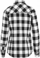 Camasi bumbac urban dama negru-alb Urban Classics
