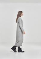 Cardigan lung tricot pentru Femei gri Urban Classics