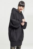 Hanorac lung oversized pentru Femei negru Urban Classics
