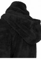 Hanorac moale cu fermoar pentru Femei negru Urban Classics