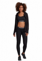 Hanorac moale polar cu fermoar pentru Femei negru Urban Classics