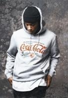 Hanorac Old Coca Cola Logo gri Merchcode