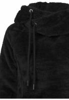 Hanorac pufos lung pentru Femei negru Urban Classics