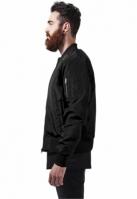 Jacheta doua culori Bomber negru-negru Urban Classics