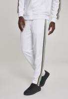 Pantaloni de trening Side Taped alb-multicolor Urban Classics