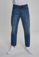 Pantaloni Denim Baggy clean-albastru Urban Classics