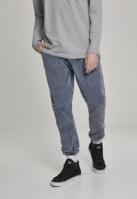 Pantaloni Sport Acid Washed Corduroy indigo Urban Classics