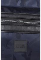 Rucsac Camo Jacquard bleumarin-camuflaj Urban Classics
