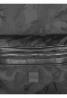 Rucsac Camo Jacquard negru-camuflaj Urban Classics