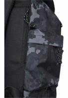 Rucsac With Multibags inchis-camuflaj Urban Classics