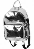 Rucsac Midi Metallic argintiu Urban Classics