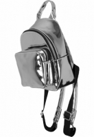 Rucsac Mini Metallic argintiu Urban Classics