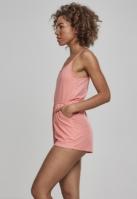 Salopeta scurta cu bretele subtiri pentru Femei coral Urban Classics