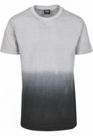 Tricou aspect prespalat gri-negru Urban Classics