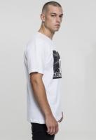 Tricou casual cu imprimeu MTV I am Music alb Merchcode