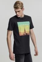 Tricou City of Dreams negru Mister Tee