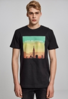 Tricou City of Dreams negru Mister Tee