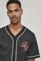 Tricou cu plasa Fuckyou Baseball negru-alb Mister Tee