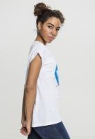 Tricou NASA Insignia pentru Femei alb