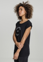 Tricou Tomorrow Not Today pentru Femei negru Mister Tee