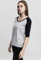 Tricouri cu maneca trei sferturi raglan
