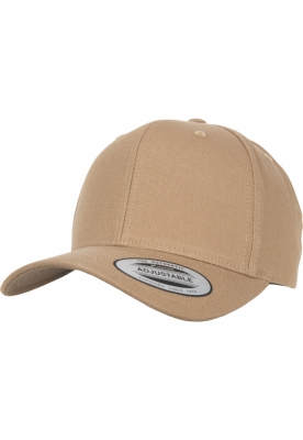 6-Panel Curved Metal Snap croissant Flexfit