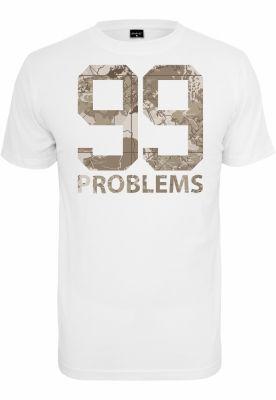 Tricou 99 Problems Desert Camo alb Mister Tee