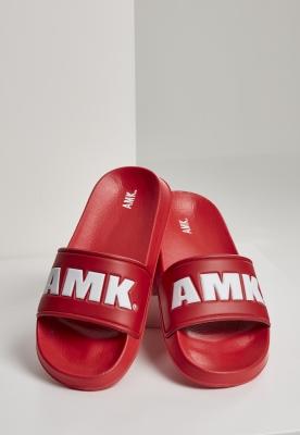 AMK Slides rosu-alb