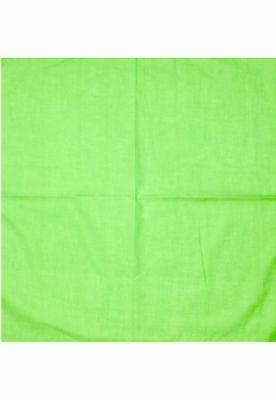 Bandana blank verde lime MasterDis
