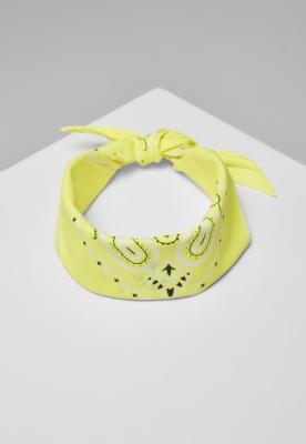 Bandana galben-neon MasterDis