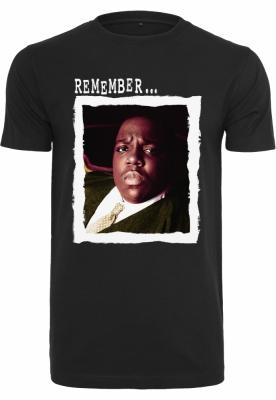 Tricou Biggie Remember negru Mister Tee
