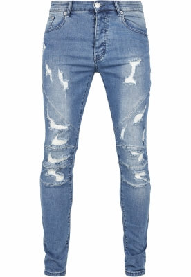 Blugi urban C&S Paneled distressed-mid Cayler and Sons