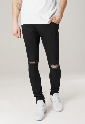 Pantaloni Slim Fit Knee Cut Denim Urban Classics