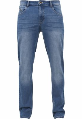 Blugi urban Stretch albastru-washed Urban Classics