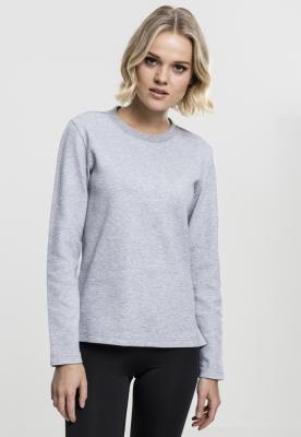 Bluza atletic maneca lunga pentru Femei gri Urban Classics