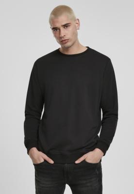 Bluza basic maneca lunga terry negru Urban Classics