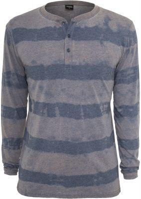 Bluze barbati fantasy cu maneca lunga albastru denim Urban Classics