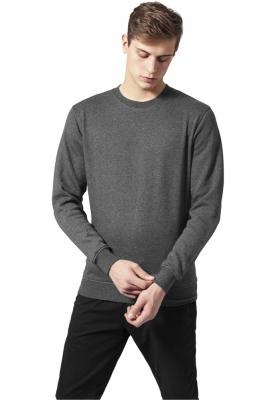 Bluza cu guler rotund melange
