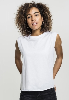 Bluza cu siret Jersey pentru Femei alb Urban Classics