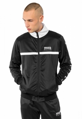 Bluza de trening Athletics negru Pusher
