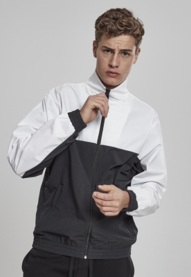 Bluza de trening Retro negru-alb Urban Classics