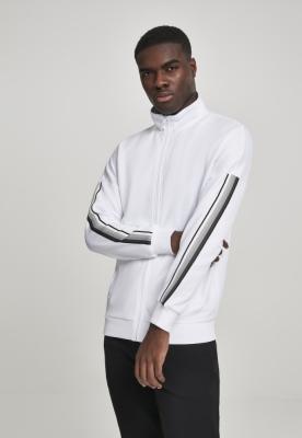 Bluza de trening Sleeve Taped alb-gri Urban Classics