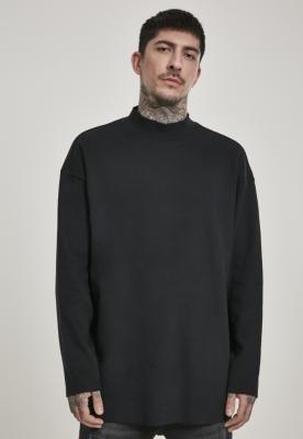 Bluza iarna maneca lunga fara tiv urban negru Urban Classics
