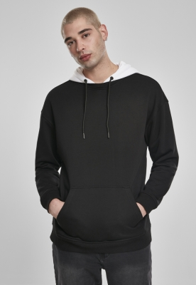 Bluza larga cu gluga negru Urban Classics