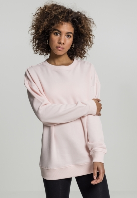 Bluza larga oversize pentru Femei roz Urban Classics