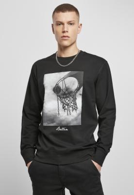 Bluza maneca lunga Ballin 2.0 negru Mister Tee
