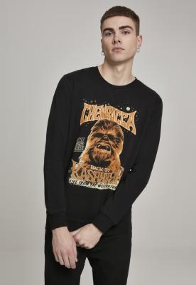 Bluza maneca lunga Chewbacca negru Merchcode